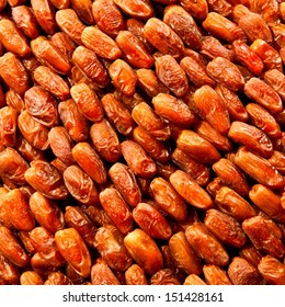 Dray dates sold at the moroccan souk