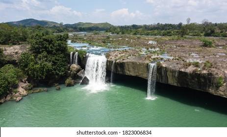 Dray Nur waterfall in Dak Lak Vietnam - Shutterstock ID 1823006834