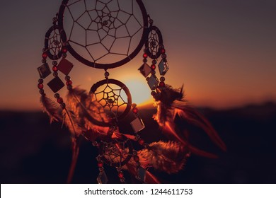 Dream catcher sunset ,