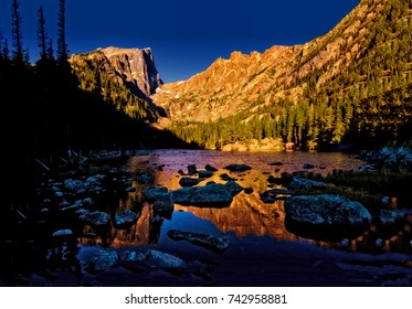 Dream Lake at Rocky Mountain National Park Colorado