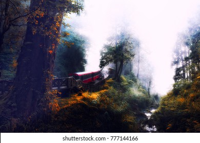 Dream Train at Alishan
