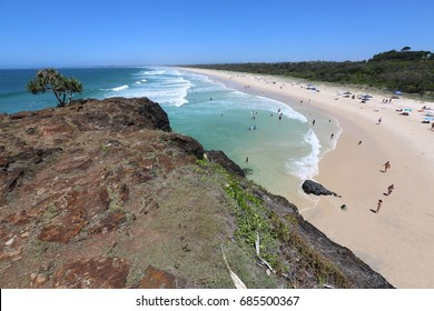 Dreamtime Beach at Fingal Head in Northern New South Wales.