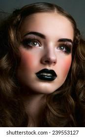 Dreamy fashion beauty female