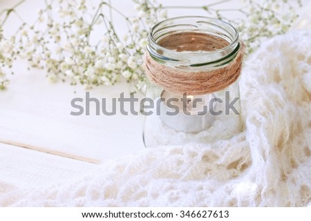 Dreamy Soft Home Handmade Candle Decoration Stock Photo Edit Now
