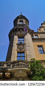 Dresden, Germany July 21, 2018 - Beautiful architecture of Dresden
