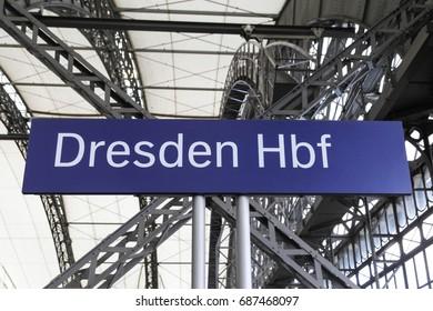 Dresden Hbf (main station)