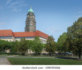 Dresden New Town Hall (Neues Rathaus) - Dresden Germany