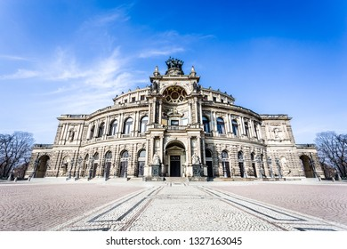Dresden opera theater, Germany.