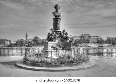 """Dresden Saxony - """"Br�¼hlsche Terrasse"""""""