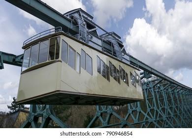 The Dresden Suspension Railway ( Schwebebahn ) is one of the oldest suspension railways a kind of hanging monorail in the world