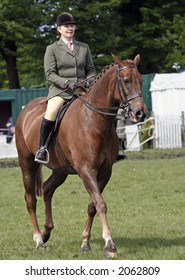 Dressage Event - Woman on Horse