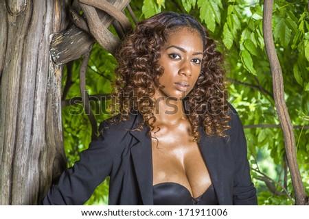 Dark skinned black women masturbating