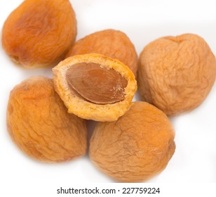Dried apricots with bone