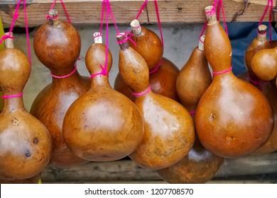 Dried bottle gourd, Calabash gourd, Flowered gourd, White flowered gourd
