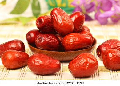 Dried chinese jujubes fruits - Stock image Jujube, Date - Fruit, Food, Fruit, China - East Asia