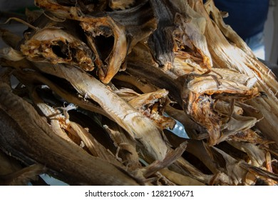 Dried codfish, real preparation in Calabria