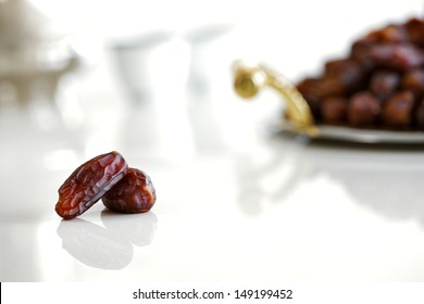 Dried dates and Arabic coffee are a prominent feature of the hospitality to be expected in Arabia