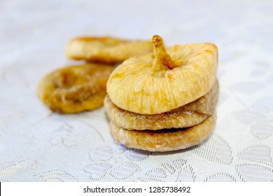 Dried figs in Israel. Dried fruits - symbol of the Jewish holiday Tu Bishvat