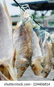 Dried fish