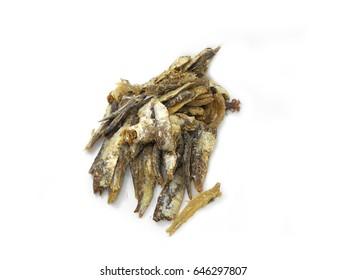 Dried fish, bony decay