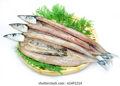 dried fish of the saury