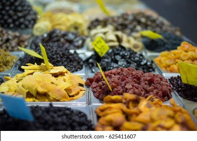Dried Fruit at Market