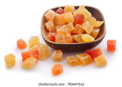 Dried fruits apricot and papaya with some others