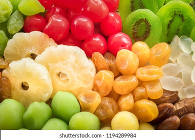 Dried fruits and food conservation dehydrated, Preserved dry fruits for eating healthy and dieting