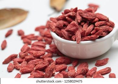 Dried goji berries, gouqi, goji, berry, Lycium barbarum, organic from china