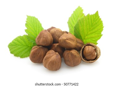 Dried hazelnuts