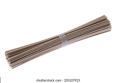 Dried noodles of buckwheat