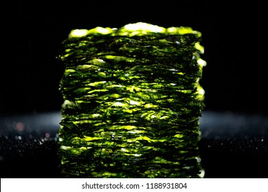 dried nori seaweed laminaria sheets