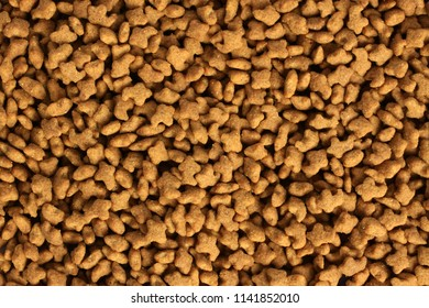 Dried pet food of many