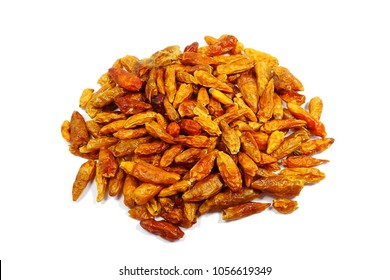 Dried Piri-Piri Pepper - African Birds Eye Chili (Capsicum annuum)