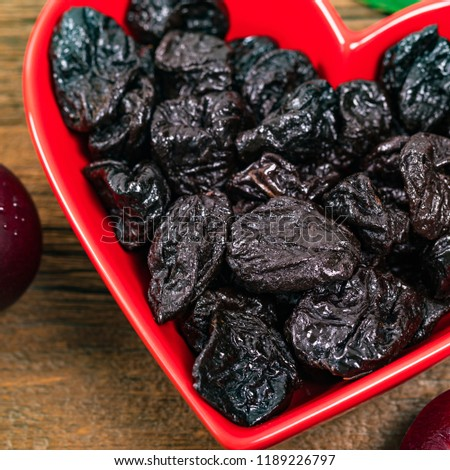 Image Of Dried Prunes