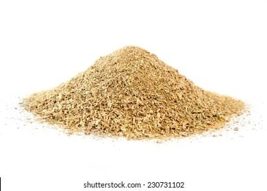 Dried purslane, verdolaga, on white