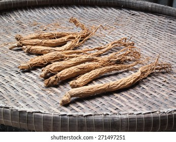 Dried red ginseng