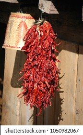 Dried red peppers (Yunnan, China)