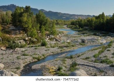 Dried river in Italy