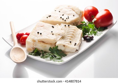 dried salted cod, codfish