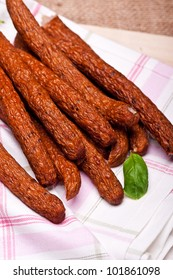 Dried sausage sticks