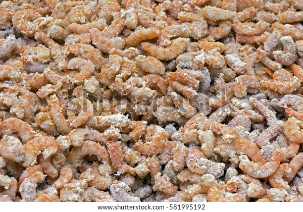 Dried shrimp, delicacy widely used as an ingredient in the rich cuisine of northeastern Brazil