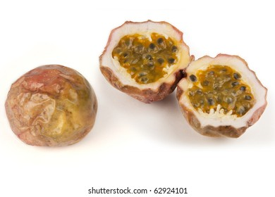 dried skin passion fruit
