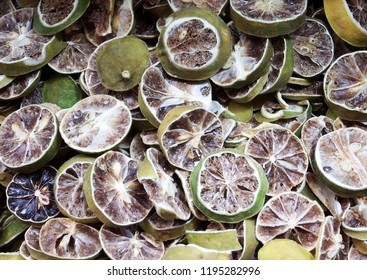 Dried sliced lime