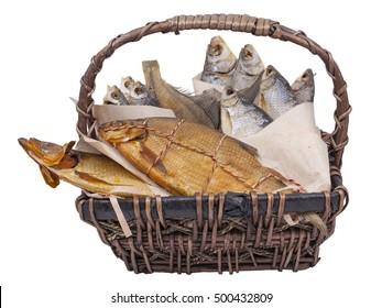 Dried Smoked Fish Gift Basket