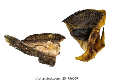 Dried snakehead fish.It is food preservation