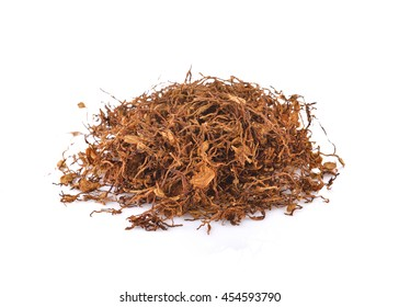 Dried Tobacco leaf sliced