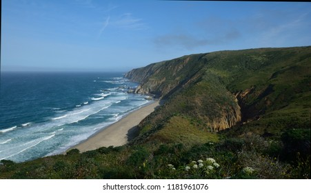 Driftwood Beach from the Tomales Point Trail in Point Reyes National Seashore