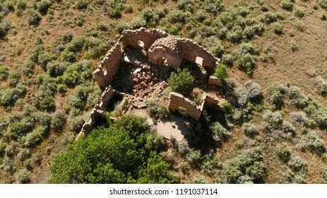 Driggs Mansion Ruins in Unaweep Canyon Colorado