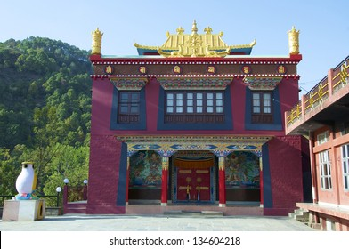 Drikung Kagyu Gompa, Buddhist Monastery, Rewalsar, Mandi, Himachal Pradesh, India